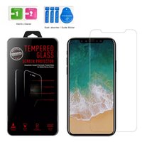 ACE 500 Pz per Iphone X 8 Iphone 7 6 5 Vetro Tempered Screen Protectors Edizione 2.5D Esplosione Shatter Screen Protector Film In box