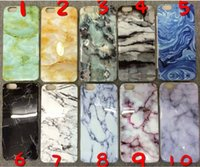 Wholesale I Phone 5c Cases Black - For iphone SE 5C 6 6s marble case soft TPU Case MarbleTexture i phone case Marble Stone Image Painted Cover case