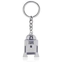 Wholesale 3d Alloy Key Chains Wholesale - Movie Jewelry keychain Darth Vader star war Anakin Skywalker 3D figure R2D2 R2-D2 robot zinc alloy key chains