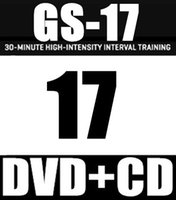 Spedizione gratuita 2.016,7 Q3 New Routine GS 17 ST HIIT 30 minuti GS17 ST17 DVD + CD Video esercizio di fitness