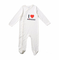 Wholesale Nice Baby Clothing - Awesome Newborn Baby Unisex Clothing Set Cute Cotton Baby Rompers Boys Jumpsuit Long Sleeves Infant Pajamas with Nice Cap