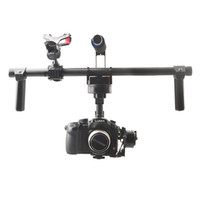 Wholesale Fpv Mount - Wholesale-F16773 HG3D GH3 GH4 Nex 5N 5T 5R A5000 A6000 A7 Mini SLR FPV Brushless Handheld Gimbal DSLR Camera Mount Stabilizer