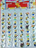 Wholesale Despicable I - 2016 Fallout Digimon Digivice Small Yellow People I Tin Badge Thief Daddy Despicable Buckle Cartoon Animation Decorative Brooch