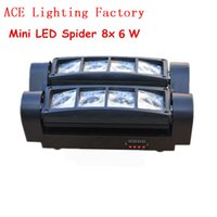 Wholesale Mini x6W Cree RGBW LED Moving Head Beam Spider Light Party Bar Disco DJ