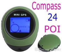 caixa de china mp3 venda por atacado-2016 Atualizado PG03 Mini GPS Receptor de Navegação Handheld Localizador USB Recarregável com Bússola para Viagens Esporte Ao Ar Livre