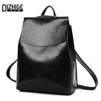 Wholesale Mochilas Style Vintage - Wholesale-Summer Brand Vintage backpack Women Pu leather Woman Backpack High Quality Softback Mochilas Mujer School Bags For Teenagers