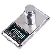 mini dijital teraziler toptan satış-Toptan 200gx0.01g Mini Dijital Ölçeği 0.01g Taşınabilir LCD Elektronik Takı Ölçekler Ağırlık Ağırlık Elmas Cep Ölçekler