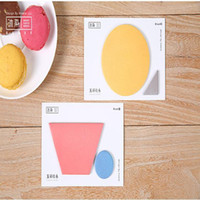 Notes block sticky notes - set Colorful building blocks Memo Pad Sticky Notes Escolar Papelaria Bookmark Post it Label office supplies