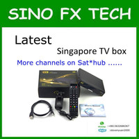 Wholesale Singapore Tv Box - free shipping 2017 Newest singapore best starhub tv box V8 Golden DVB-S2+T2 Cable for football match