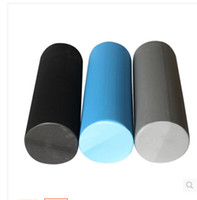 Wholesale Foam Block Black - Wholesale-Pro Firm High Density Foam Roller Fitness Solid EPP Muscle Tissue Massage for Trigger Point tension yoga roller