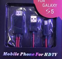 mhl hdmi adapter großhandel-Volle 1080P Micro USB zu HDMI MHL zu HDMI Adapter Kabel Media Adapter HDTV für Samsung Galaxy Samsung Spezial