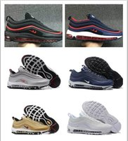 Wholesale Cheap Men Name Brand Shoes - Wholesale Hot Sale Cheap Max 97 name brand sneakers maxes kpu running shoes for men training runners outdoor shoe mens hiking sneakers