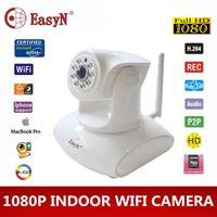 Wholesale Cam Wifi Easyn - EasyN wifi camaras IP camera wifi wireless 1080P 2MP home security HD video cctv TF cam pt Pan Tilt surveillance ir IPC ipcam