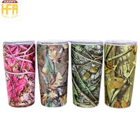 Wholesale Antique Cast - 20oz Stainless Steel Tumbler Water Cups Vacuum Cup Thermos Water Cups Two Layers Auto Mug Vacuum Cup Printing Dyeing Pattern Drinking Mugs