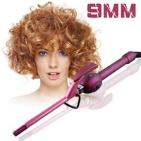 Wholesale Multifunctional Electric Tool - 9mm Curling Iron Hair Curler Professional Hair Curl Irons Curling Wand Roller Rulos Krultang Magic Care Beauty Styling Tools