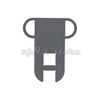black oxide plating - 2Pc x39 Rifle Black Oxide Ambidextrous Steel Dual Loop Sling Mount Plate Adapter