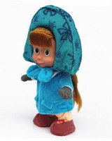 Hot Explosion Cartoon Toys Inverno a prezzi accessibili Soft Big Eyes Orso Singing Walk Recording Martha Doll