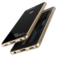 Wholesale Huawei Gorilla - LUPHIE Luxury Aluminum Metal Frame+ 9H Gorilla Tempered Glass Cover Set For Huawei P9 Original Mobile Phone Case