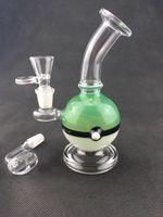 ingrosso tubo di acqua sigaro-New Style Smoking Pipes Acqua in vetro Bongs Fabbrica diretta con altezza 17cm Alta qualità Ultimo disegno Tabacco sigaro