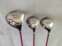 3 stelle Golf club Honma Beres S-03 Driver + 3 # 5 # Fairway Woods Lady Grafite shaft 3PCS Golf Woods Mano destra