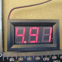 Wholesale Digital Voltmeter v DC V to V Digital Voltmeter Voltage Panel Meter For V V Electromobile Motorcycle Car