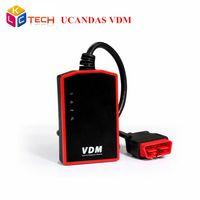 Wholesale vehicle promotion - Wholesale- 2017 Big Promotion UCANDAS VDM Wireless Wifi Automotive Diagnosis System OBDII Vehicle VDM UCANDAS Diagnostic Tool Original