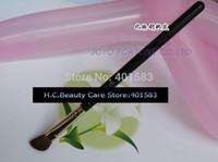 Wholesale Eye Shading Brush - 24pcs lot-Brand New Professional Cosmetics Brushes #275 Medium Angled Eye Shadow Single Brush MC Makeup Pony Hair Eye Shading Brushes supply