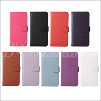 Wholesale Note3 Leather Cover - For Note 5 Note 5 Litchi Skin Flip Wallet Card Leather Stand Holder Case Cover Plastic Cases For Samsung Galaxy Note3 Note 4