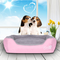 Wholesale Beds For Cats - 48*40*15Cm Dog Bed Mattress Comfor Sleeping Pet Supplies Rectangle Shape For Teddy Dogs Cats Multi Colors Small Size Available
