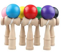 Wholesale Science Sale - Hot Kendama Ball Japanese Traditional Wood Game Toy High Quality 18 CM Free Shipping Hot Sale