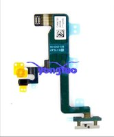 Per Pulsante iPhone 4 4S originale di alimentazione Flex Cable Ribbon Cavo dell'alta tensione Sensore di luce interruttore on / off di ricambio per iPhone 4 4S