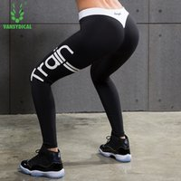 Wholesale Female Tights - Yoga Leggings Women Compression Pants Yoga Pants Gear Sports Exercise Tights Female Fitness Running Long Jogging Trousers Gym Slim Leggings
