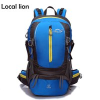 Wholesale Fun Camping - LOCAL LION 2016 Waterproof Outdoor Travel Backpack Hiking Climbing Camping Backpack Rucksack Quality Fun Sport Backpack HQB1275