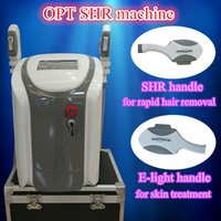 Wholesale Ipl Filters - Permanent eligth Hair Removal IPL E light Laser skin care hair removal rf 3 filters 300000 shots