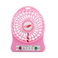 Wholesale New Portable Palm leaf fan Cute Mini USB Convenient Removable Lithium Battery Charging Desktop Small Cool Speeds Fan with retail package