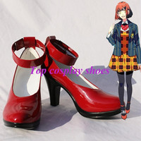 Wholesale Cosplay Uta Princes Sama - Wholesale-Freeshipping Uta no Prince-sama Nanami Haruka Cosplay Shoes red high heel custom-made for Halloween Christmas festival
