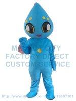 Wholesale Alien Carnival Costumes - blue alien mascot costume custom cartoon character cosply carnival costume 3004
