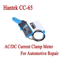 ingrosso oscilloscopio automobilistico-All'ingrosso-multimetro Hantek CC-65 AC / DC Current Clamp Meter con trasduttore BNC Oscilloscopio per riparazione automobilistica 20mA ~ 65A