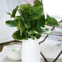 ingrosso bonsai di seta-K16178 Simulazione di alta qualità Farfalla foglia 40 cm Bonsai Matrimonio Piante di Seta Artificiale San Valentino Fiore Decorativo di Natale