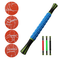 Wholesale Message Back - Portable 18 inch Message Muscle Stick Tools for Athletes-Muscle Roller Massager Relief for Deep Tissue Muscle of Foot,Leg,calf and Back Rec