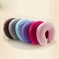 almohada de masaje envío gratis al por mayor-2016 ¡Caliente! eap pillow Nueva versátil almohada de espuma de memoria masaje de cuello Viajes almohadas saludables envío gratuito