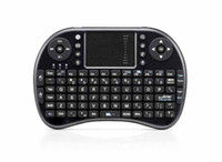 Wholesale Fly Air Mouse Russian - iPazzPort 2.4G Mini i8 Wireless Keyboard With Touchpad Fly Air Mouse Russian Hebrew Spanish Multiple Languages Keyboards for Andriod TV Box