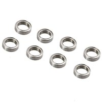 Wholesale Hpi Flux - RC HPI B020 Silver Bearing 10*15*4mm 8PCS For WR8 Flux