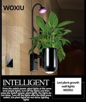 tiras de luz conduzida do aquário venda por atacado-WOXIU planta de luces de planta do presente pared cresce a decoração interna impermeável da parede do aquário hidropônico da lâmpada de tira 8w do espectro das luzes