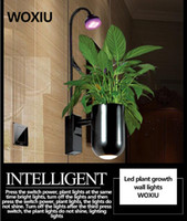 aquarium led-lichtstreifen großhandel-WOXIU Plantage de luces de pared Geschenkpflanze wachsen Led Lights Spectrum Streifen Lampe 8 w Hydroponischen Aquarium Wasserdichte Innenwand Dekoration