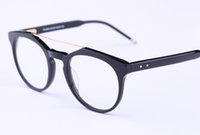 Wholesale Blue Prescription Glasses - Hot Sale Eyeglasses Frames TB408 men women tb reading Optical Frame speatacle frame oculos prescription Myopia Eye glasses 52mm with case