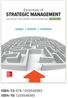 Wholesale new Essentials of Strategic Management The Quest for Competitive Advantage th Edition Books book ISBN