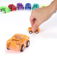 Wholesale Cheap Toy Plastic Cars - Children's Mini Car Toys Cute Pull Back Car Kid's Learning and Education Toys Cheap Mini Cars Toys Christmas