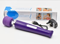 Wholesale charger toy - 30 speed Magic Wand Massager USB Rechargeable, Clitoral Vibrator Charger, Breast Vibrators, Powerful Body Massager, AV Stick, Adult Sex Toys