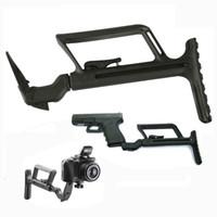 airsoft silah avı toptan satış-Taktik airsoft aksesuarları tabanca aksesuarları GLR 440 G17 stok Gen 4 için tüfek kapsamı avcılık için (17 34 sadece) Gen 23 (17 18 19
